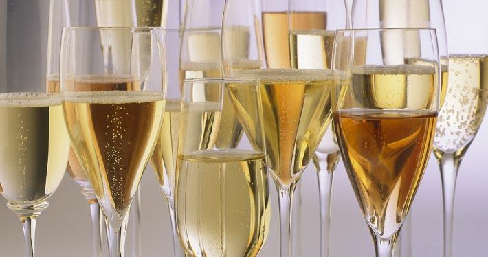 verres champagne