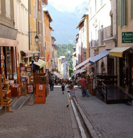 Gargouille street in Briancon