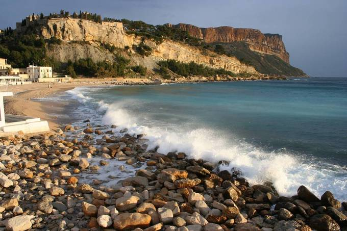 winter in cassis