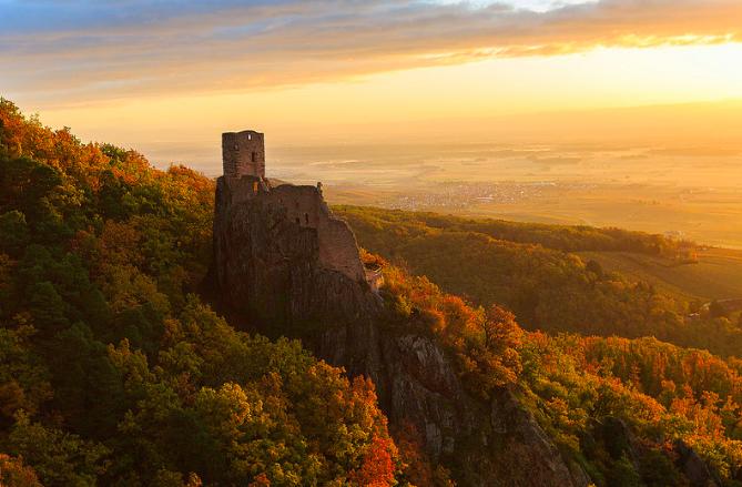 Girsberg castle