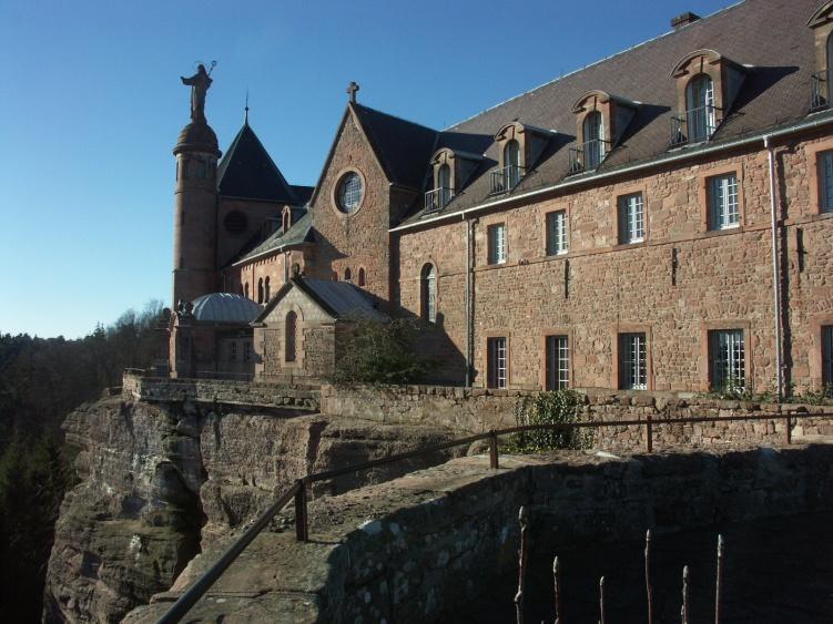 Mont Sainte Odile Abbey