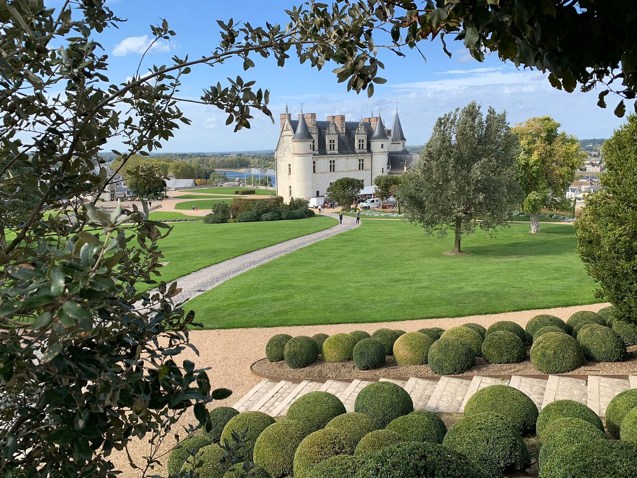 Image from a cycling tour in Amboise, Loire Valley in France. Image taken by one of Discover France's travelers.