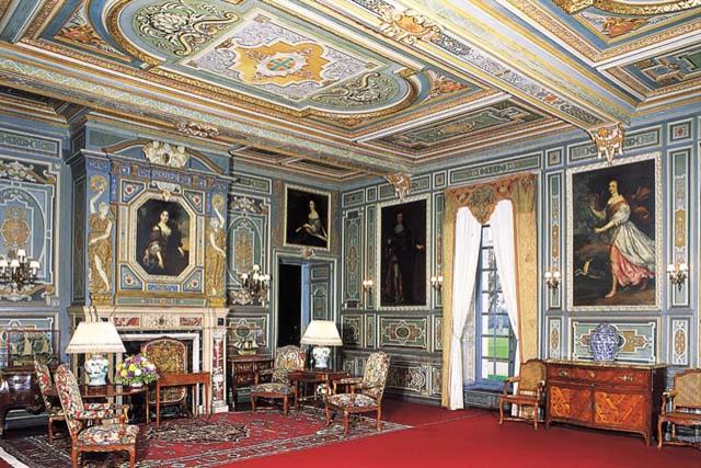 cheverny interieur