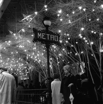metro Paris vintage