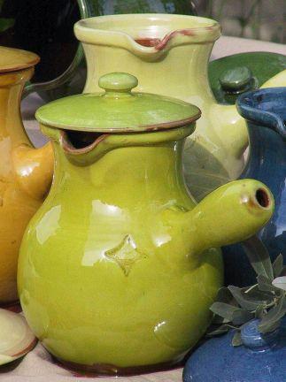 barbotine pottery