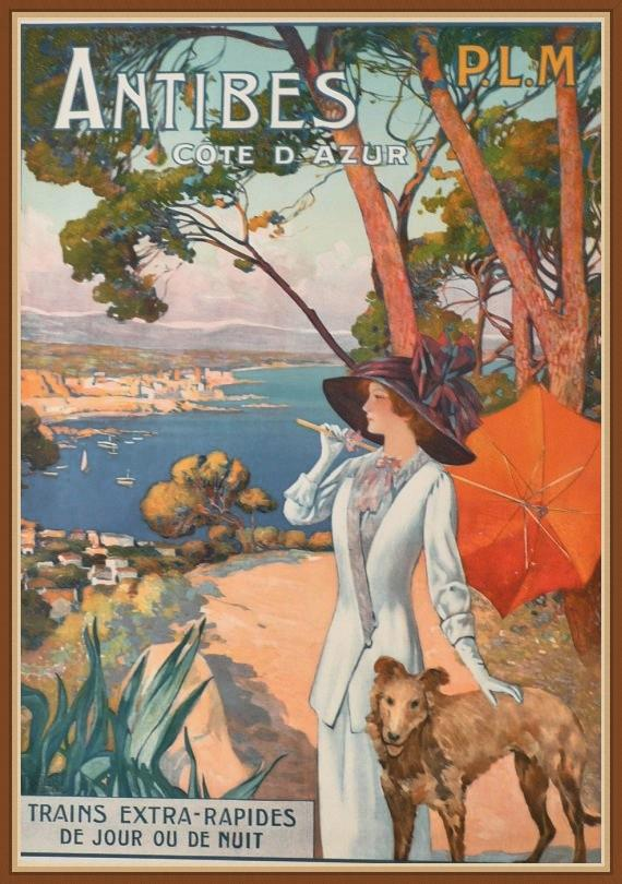 vintage poster provence