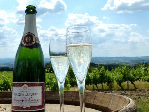 The-second-is-sparkling-wine-at-Chateau-Rives-Blanques-e1309324098919